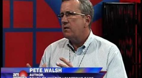 Business Coach Pete Walsh appears on AM Arizona